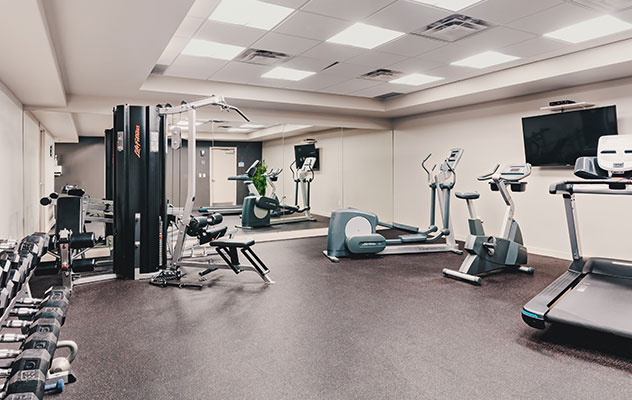 Photo of the fitness facility at The Adelaide